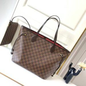 NWT LouisVuitton Neverfull MM tote